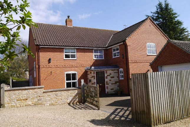 Thumbnail Detached house for sale in Lawrence Close, Market Overton, Oakham
