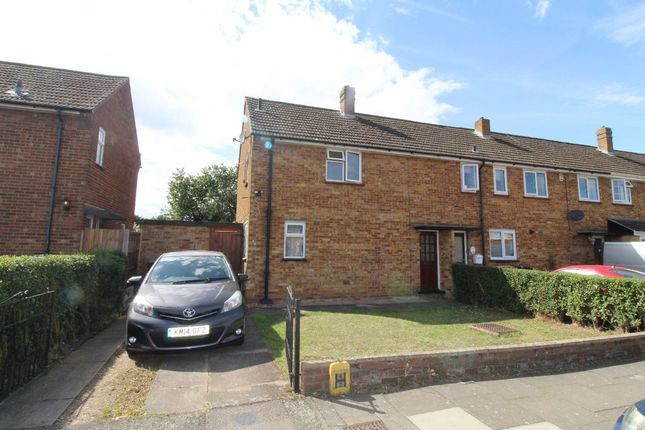 Thumbnail Semi-detached house to rent in Lovell Road, Bedford