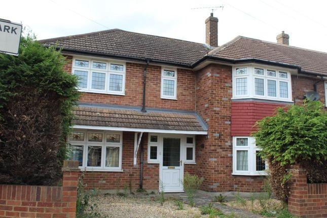 Thumbnail End terrace house to rent in Mungo Park Road, Rainham, Essex