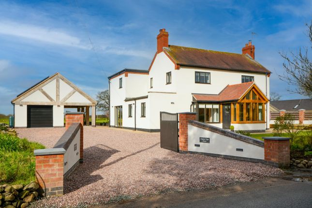 Thumbnail Detached house for sale in Coole Lane, Audlem, Crewe