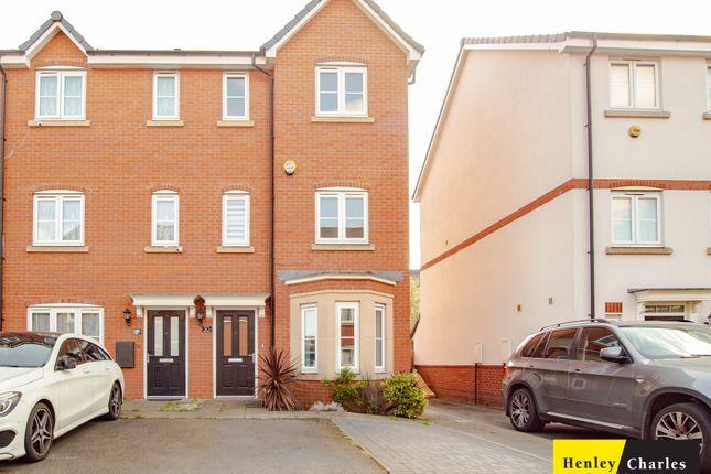 Thumbnail End terrace house to rent in Bishops Close, Erdington, Birmingham