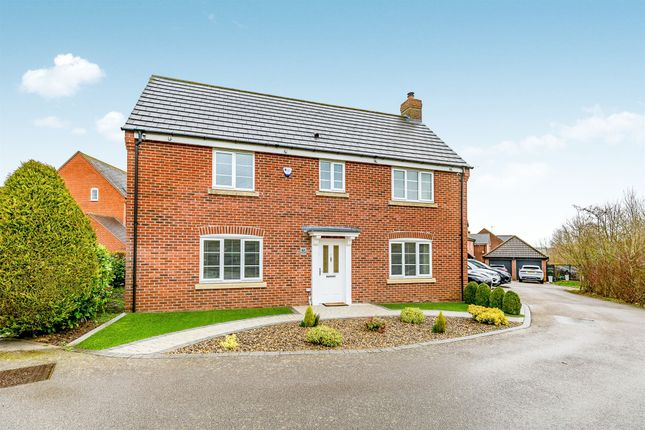 Thumbnail Detached house for sale in Rickyard Walk, Grange Park, Northampton