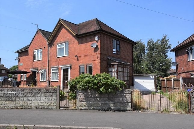Thumbnail Semi-detached house for sale in Harrowby Road, Meir, Stoke-On-Trent