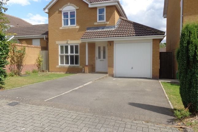 Thumbnail 3 bed detached house to rent in Haywain Close, Swindon