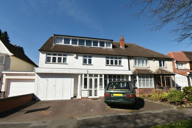 Thumbnail Semi-detached house for sale in Etwall Road, Hall Green, Birmingham