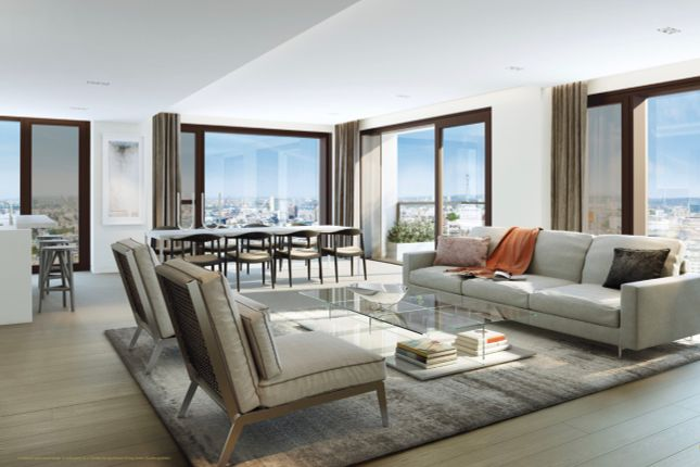 Thumbnail Flat for sale in Belvedere Gardens, South Bank Place, London