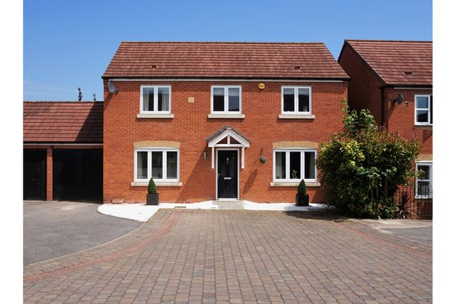 Thumbnail Detached house for sale in Carp Close, Worcester