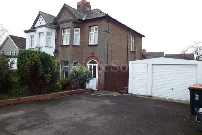 Thumbnail Semi-detached house to rent in Catsash Road, Langstone, Newport.