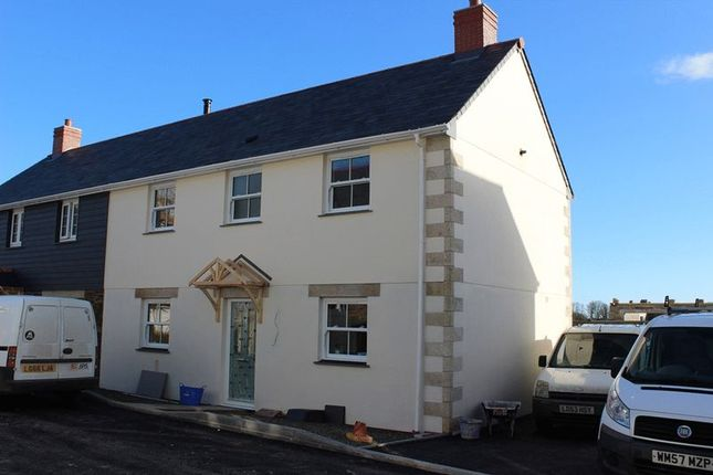 Thumbnail Semi-detached house for sale in Hewas Water, St. Austell