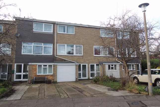 Thumbnail Terraced house to rent in Bridgefield Close, Colchester