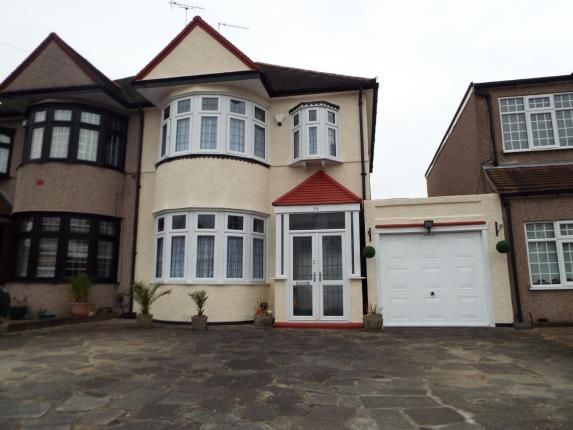 Thumbnail Property for sale in Clayhall, Ilford, Essex