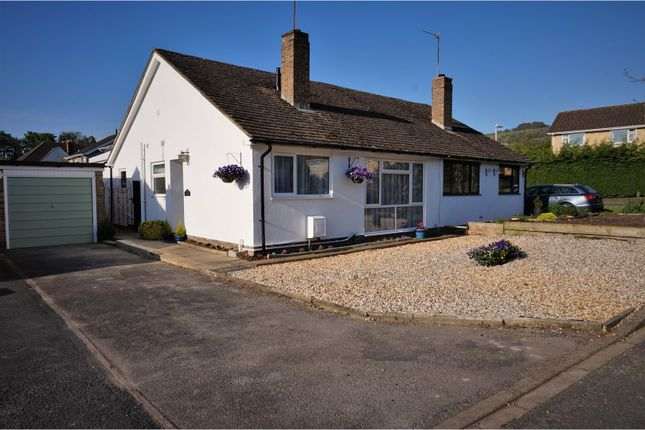 Thumbnail Semi-detached bungalow for sale in Muscroft Road, Prestbury, Cheltenham