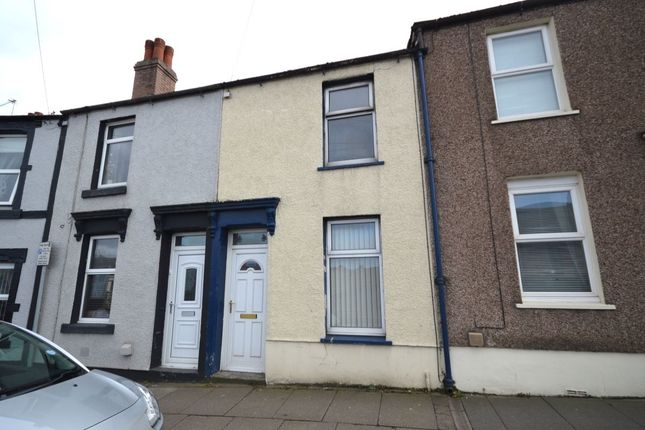 Thumbnail Terraced house to rent in Harrington Road, Workington