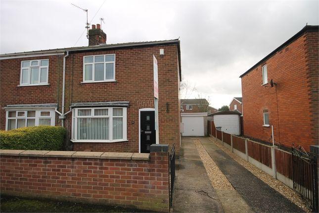 Semi-detached house for sale in Milton Street, Balderton, Newark, Nottinghamshire.
