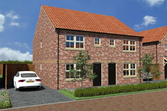 Thumbnail Semi-detached house for sale in 7 Ferryman Close, Ferry Road, Wawne