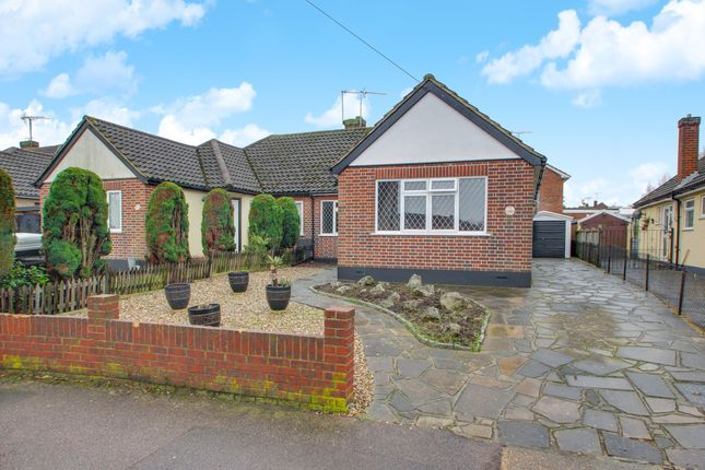 Thumbnail Semi-detached bungalow for sale in Kings Park, Hadleigh, Benfleet