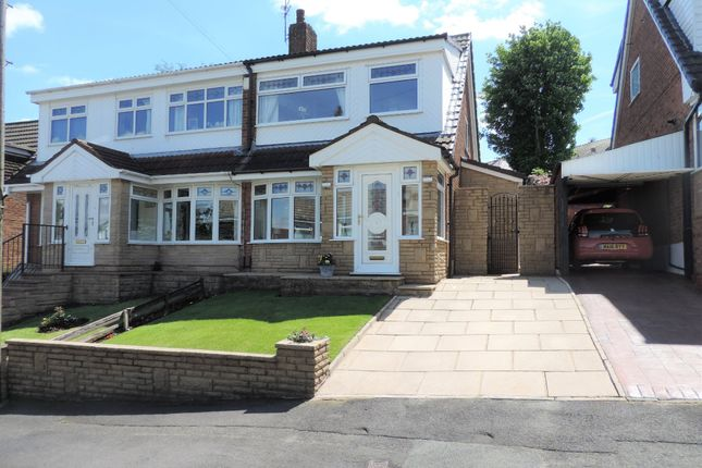 Thumbnail Semi-detached house for sale in 11 Lynmouth Close, North Chadderton