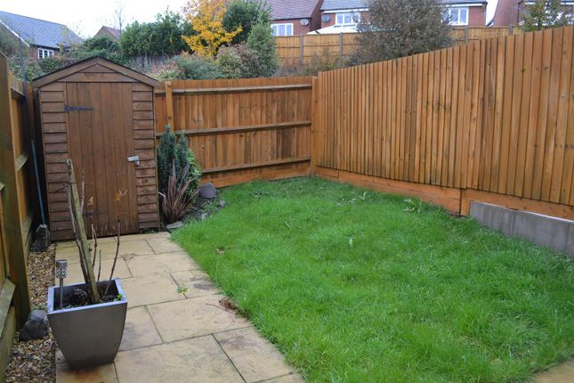 Garden of Merton Close, Church Gresley, Swadlincote DE11