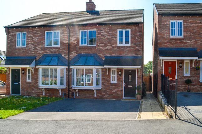Thumbnail Semi-detached house for sale in Shireburne Drive, Chorley