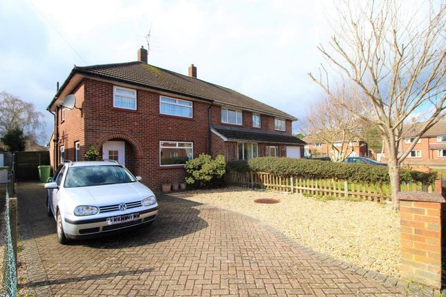 3 bed semi-detached house for sale in Rowan Close, Camberley