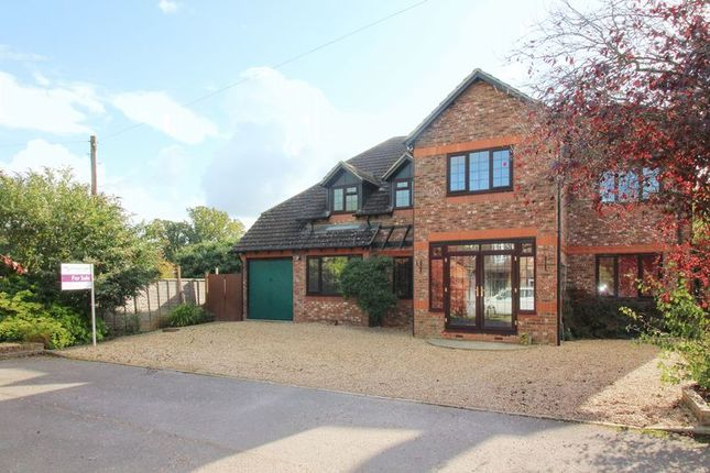 Thumbnail Detached house for sale in Hamesmoor Way, Mytchett, Camberley