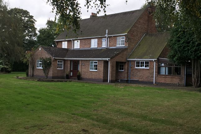 Thumbnail Detached house to rent in Desford, Leicester