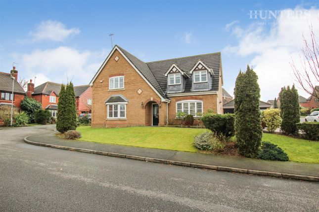 Thumbnail Detached house to rent in Regency Drive, Stockton Brook, Stoke-On-Trent