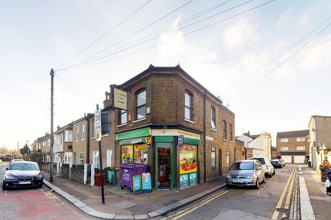 Thumbnail Retail premises for sale in Wellington Road, London