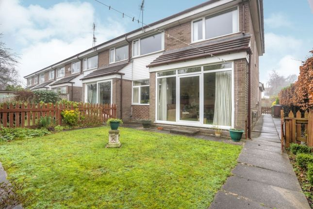 Thumbnail Terraced house to rent in Portland Close, Hazel Grove, Stockport