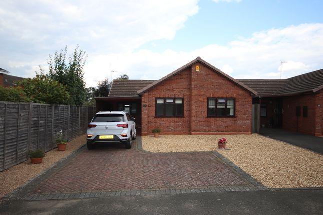Thumbnail Detached bungalow for sale in Kempton Close, Evesham