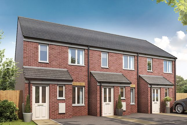 """Thumbnail Semi-detached house for sale in """"The Alnwick"""" at Scarrowscant Lane, Haverfordwest"""