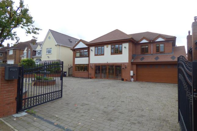 Thumbnail Detached house for sale in Hamilton Avenue, Harborne, Birmingham