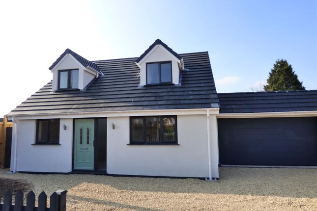 Thumbnail Detached bungalow for sale in The Laurels, Beachley Road, Chepstow
