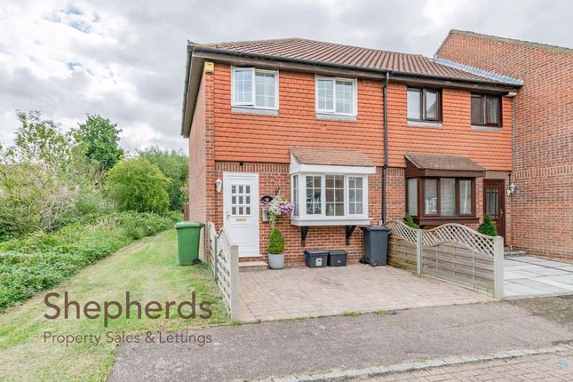 Thumbnail End terrace house for sale in Leaforis Road, West Cheshunt, Hertfordshire