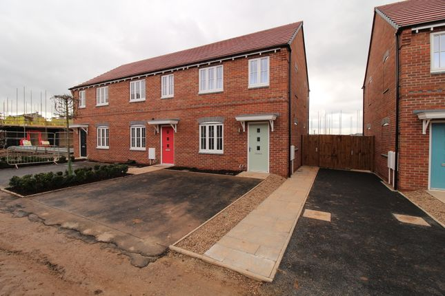 Thumbnail End terrace house to rent in Laxton Close, Nottingham