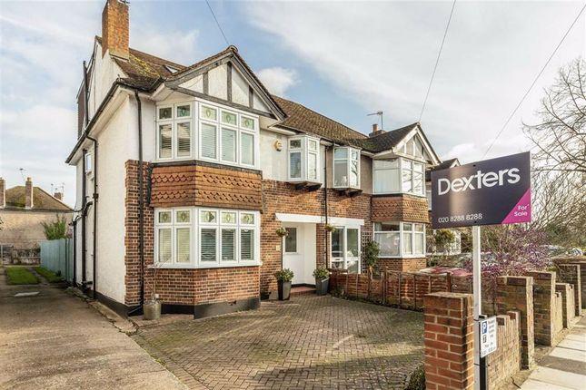 Semi-detached house for sale in Station Road, Teddington
