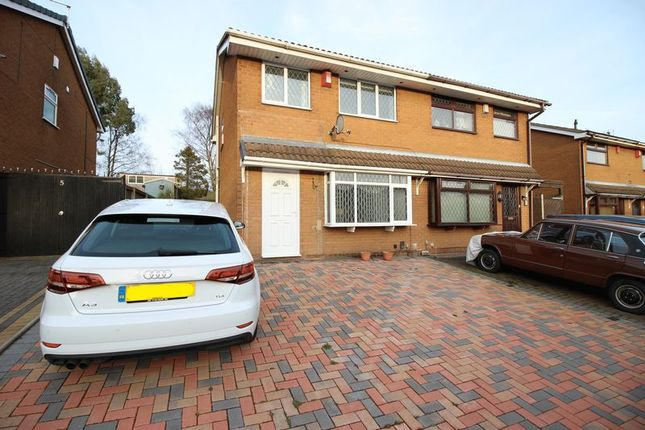 Thumbnail Semi-detached house to rent in Loganbeck Grove, Longton, Stoke-On-Trent