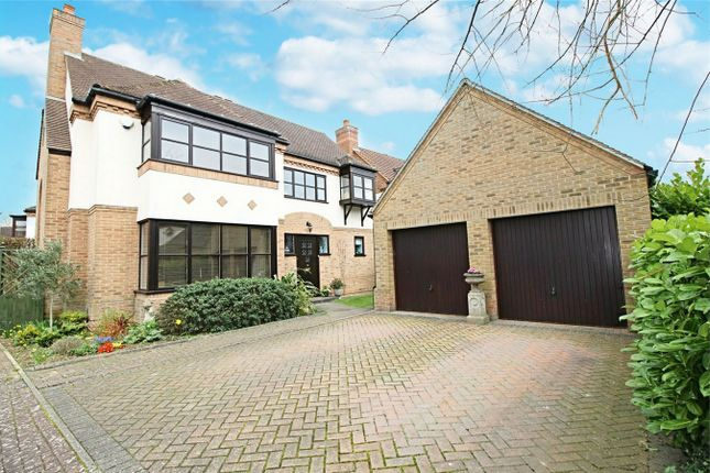 Thumbnail Detached house for sale in Hobby Close, Hartford, Huntingdon