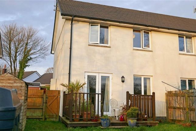 Thumbnail Semi-detached house for sale in Balleroy Close, Shebbear, Beaworthy