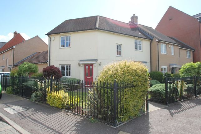 Thumbnail Link-detached house to rent in Rose Allen Avenue, Colchester