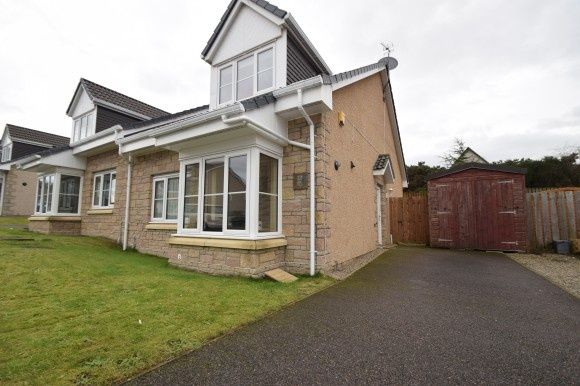 Thumbnail Semi-detached house to rent in Rowan Grove, Resaurie, Inverness