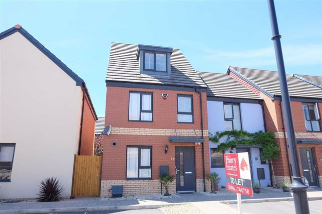 3 bed end terrace house to rent in Portland Drive, Barry, Vale Of Glamorgan CF62