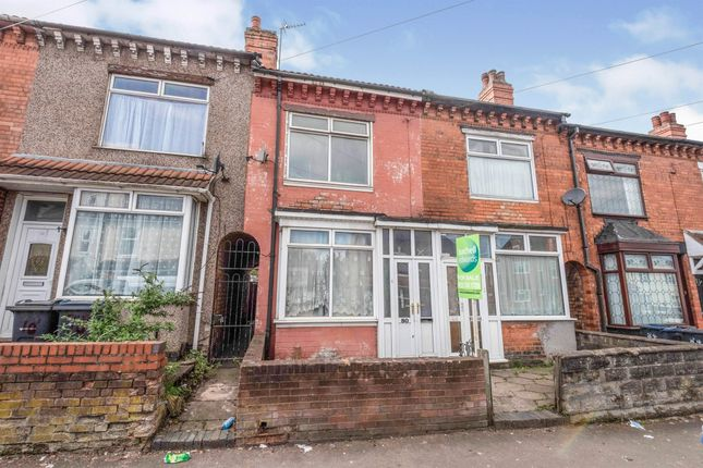 Thumbnail Terraced house for sale in Blake Lane, Bordesley Green, Birmingham
