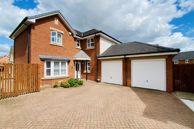 Thumbnail Detached house for sale in Grayling Road, New Stevenston, Motherwell