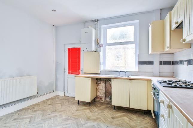 Kitchen of Sackville Street, Brierfield, Nelson, Lancashire BB9