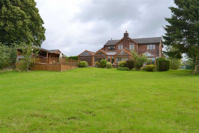 Thumbnail Detached house for sale in Devils Lane, Longsdon, Stoke-On-Trent