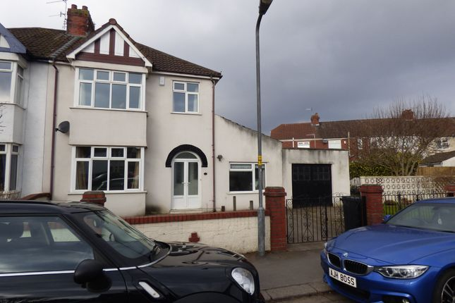 Thumbnail Semi-detached house to rent in Clinton Road, Bedminster, Bristol