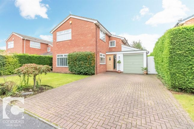 Thumbnail Detached house for sale in Woodfall Grove, Little Neston, Neston, Cheshire