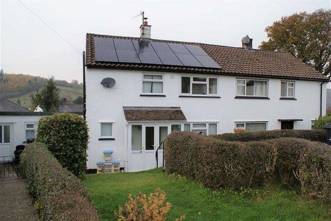 Thumbnail Semi-detached house to rent in Caegwyn, Llanidloes