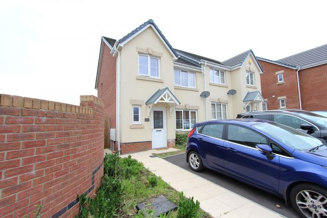 Thumbnail Semi-detached house for sale in Worcester Court, Tonyrefail -, Porth